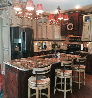 Don's Custom Cabinets - Example Kitchen